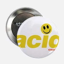 "Acid Smiley 2.25"" Button"