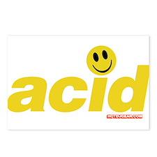 Acid Smiley Postcards (Package of 8)