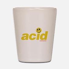 Acid Smiley Shot Glass