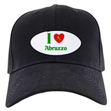 I Love Abruzzo Italy Baseball Hat