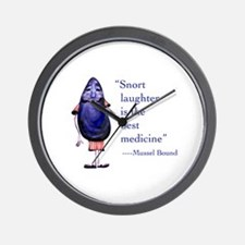 Mussel Bound Wall Clock
