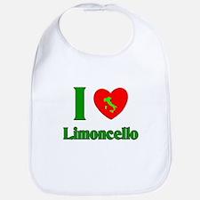 I Love Limoncello Bib