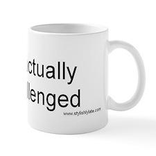 Mug, Punctually Challenged