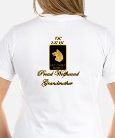 Proud Wolfhound Grandmother Shirt