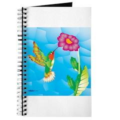 Jeweled Hummingbird Journal