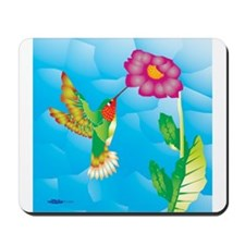 Jeweled Hummingbird Mousepad