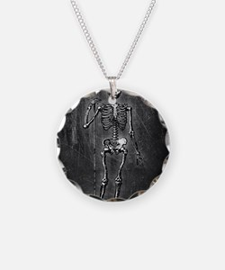 Skeleton Grim Reaper Necklace