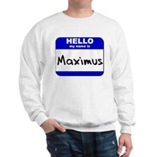 hello my name is maximus  Jumper