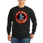 Big Boy Brand Long Sleeve Dark T-Shirt