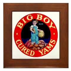 Big Boy Brand Framed Tile