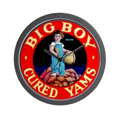Big Boy Brand Wall Clock