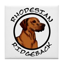 Rhodesian Ridgeback Tile Coaster