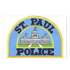 Saint Paul Police Postcards (Package of 8)