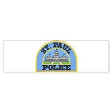 Saint Paul Police Bumper Bumper Sticker