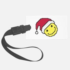 Christmas smiling face Luggage Tag