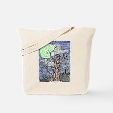 Harvest Moon by Wendy C. Allen Tote Bag