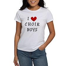 I Heart Choir Boys Tee