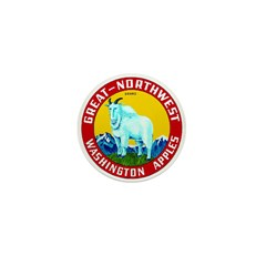 Great-Northwest Brand Mini Button (100 pack)