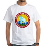 Great-Northwest Brand White T-Shirt