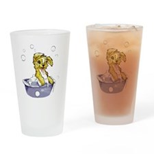 Doggie Dog Wash Drinking Glass