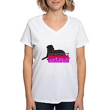 Black Labrador Retriever Grandma Shirt