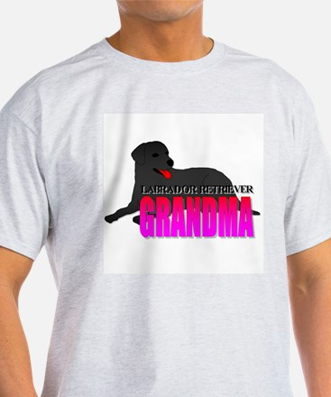 Black Labrador Retriever Grandma T-Shirt