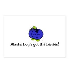 Alaska boy's got the Postcards (Package of 8)