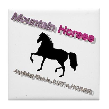 Mtn Horses - JAH Tile Coaster