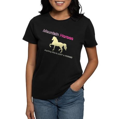 Mtn Horses - JAH Women's Dark T-Shirt