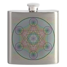 Metatron's Cube Rainbow Flask