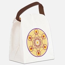 Metatron's Cube Canvas Lunch Bag