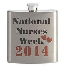National Nurses Week 2014 Flask