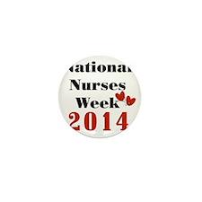 National Nurses Week 2014 Mini Button