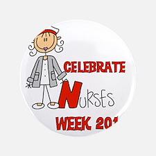 "Celebrate Nurses Week 2014 3.5"" Button"