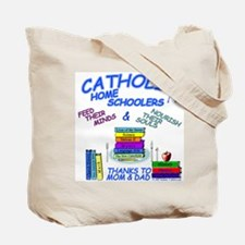 Catholic Home Schoolers Tote Bag
