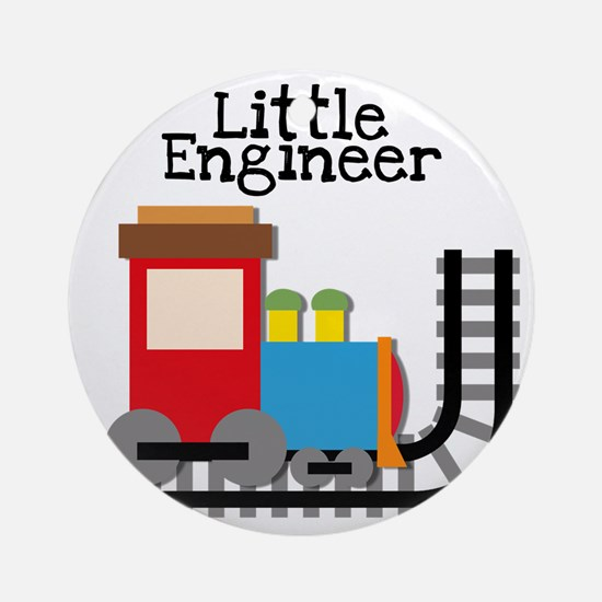 Little Engineer Round Ornament