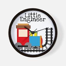 Little Engineer Wall Clock