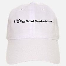 I Eat Egg Salad Sandwiches Baseball Baseball Cap