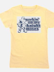 Knight Moves Ash Grey T-Shirt