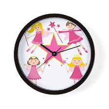 Fairy Princesses Wall Clock