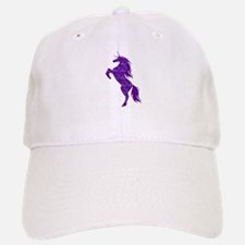 Purple Unicorn Baseball Baseball Baseball Cap