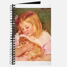 Marie Cassatts Niece Sara with her Kitten Journal
