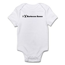I Eat Barbecue Sauce Infant Bodysuit