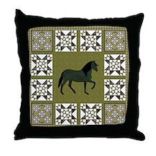 Peruvian Paso Gr Throw Pillow