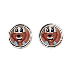 Sammy Throw pillow Cufflinks