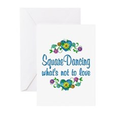 Square Dancing to Love Greeting Cards (Pk of 20)
