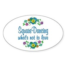 Square Dancing to Love Decal