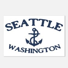 seattle-anchor-CAP Postcards (Package of 8)