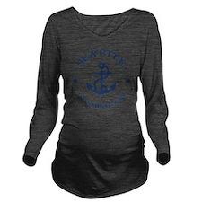 seattle-anchor-LTT Long Sleeve Maternity T-Shirt
