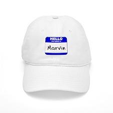 hello my name is marvin Baseball Baseball Cap
